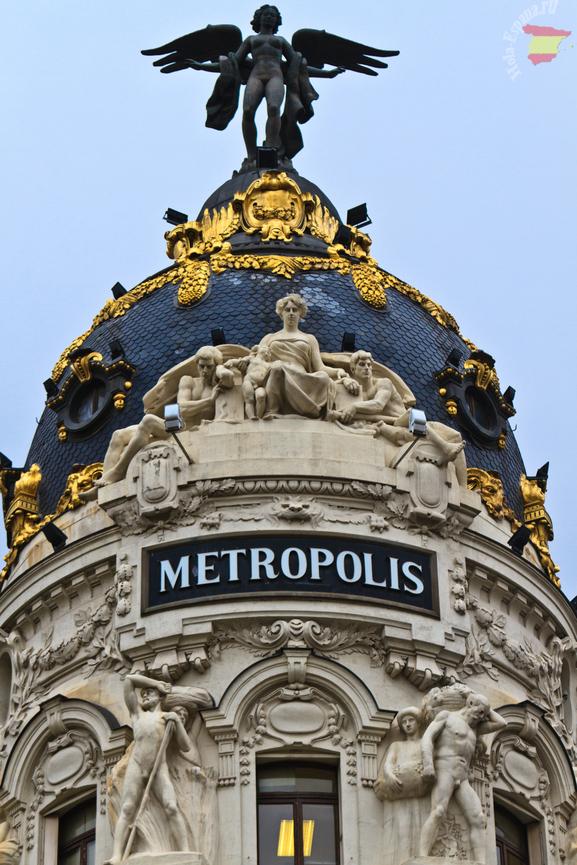 Один из символов испанской столицы - Metropolis