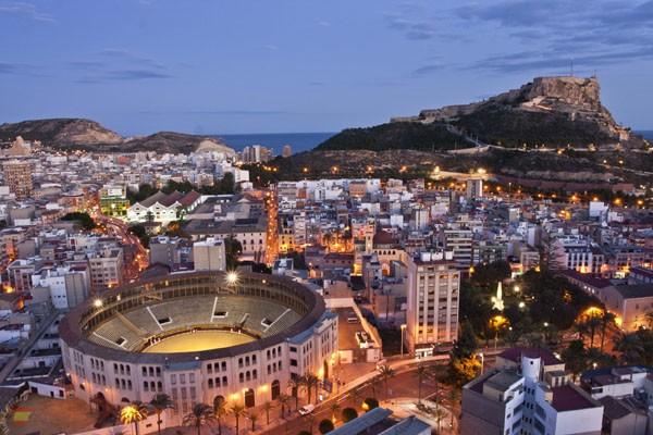 Испанский город Аликанте