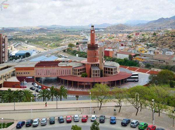 Вид на город Картахена