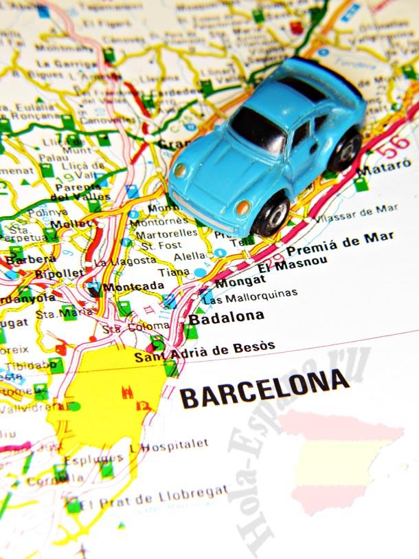 Как попасть в испанский город Бадалону