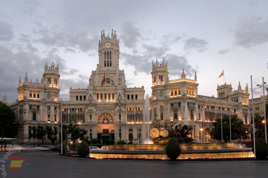 Дворец Сибелес в Испании