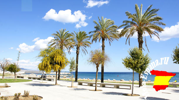 Пляжи города Бадалоны