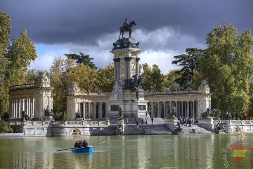 Park Retiro in Madrid
