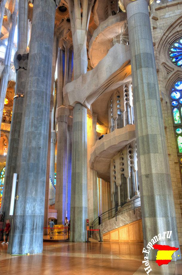 Произведение Антонио Гауди - Sagrada Familia