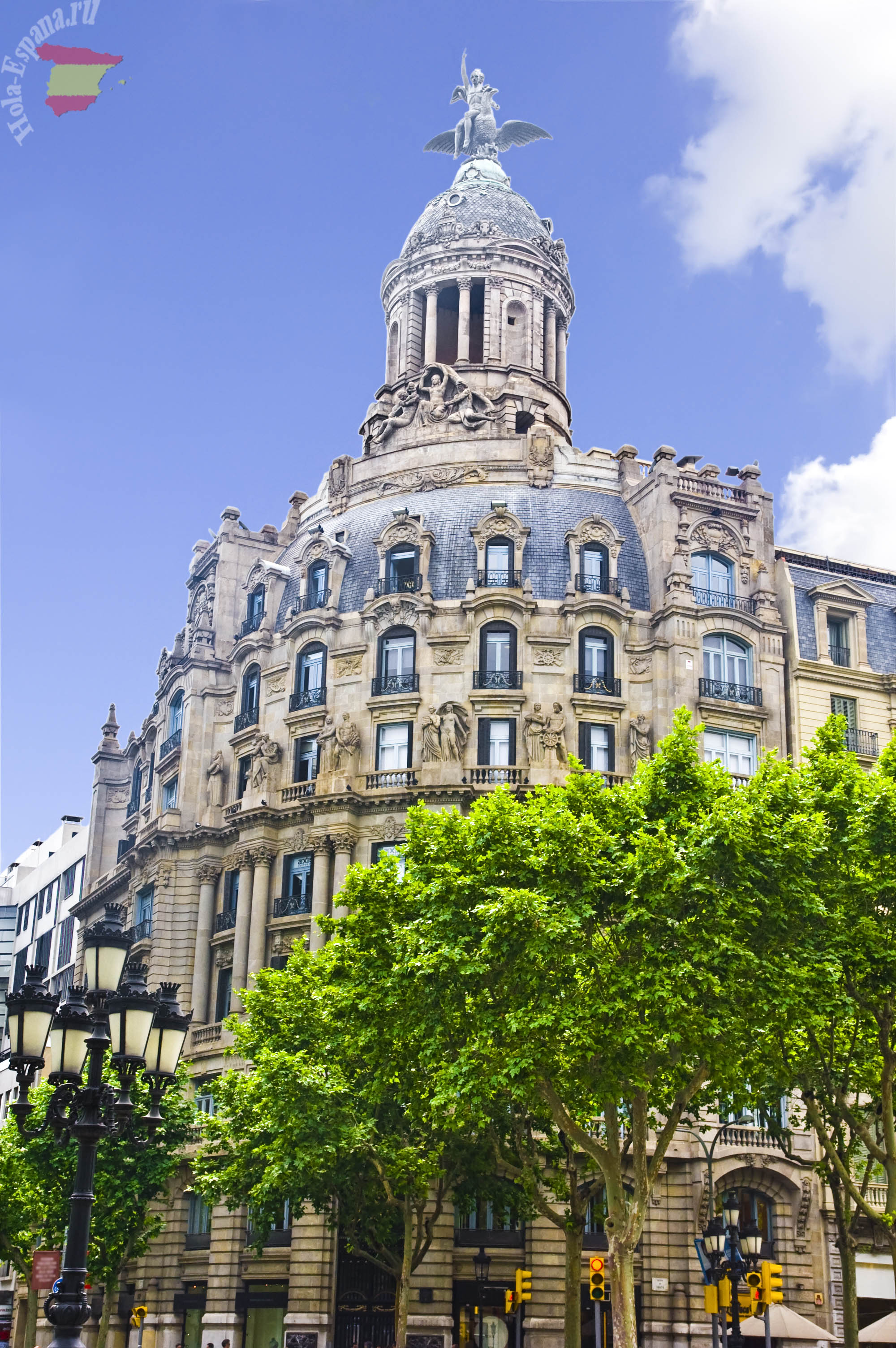 Архитектура Passeig de Gracia
