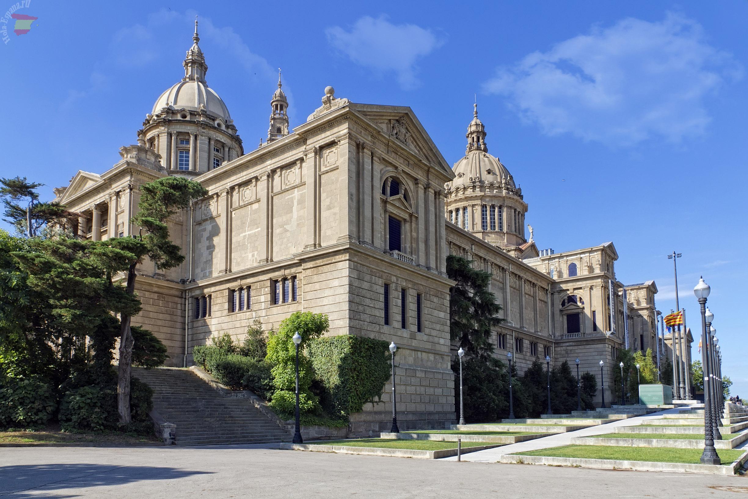 Национальный дворец на горе Монжуик