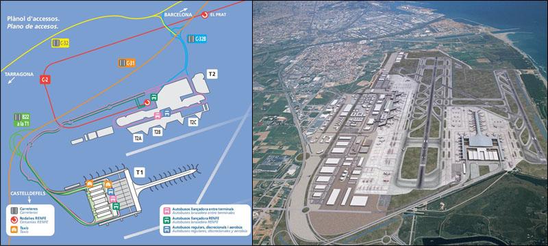 Аэропорт Эль Прат в Барселоне