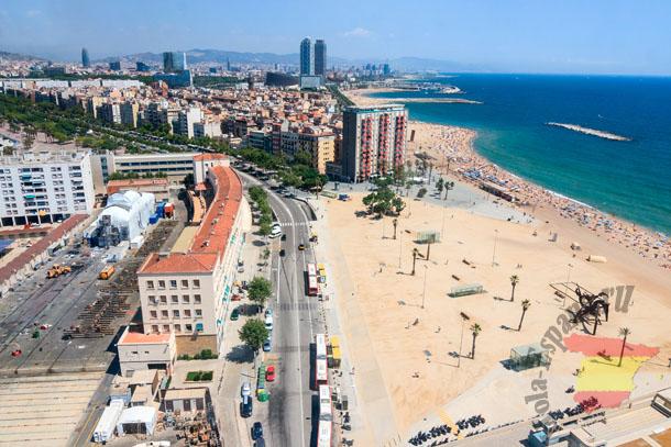 Квартиры на берегу моря в Барселоне