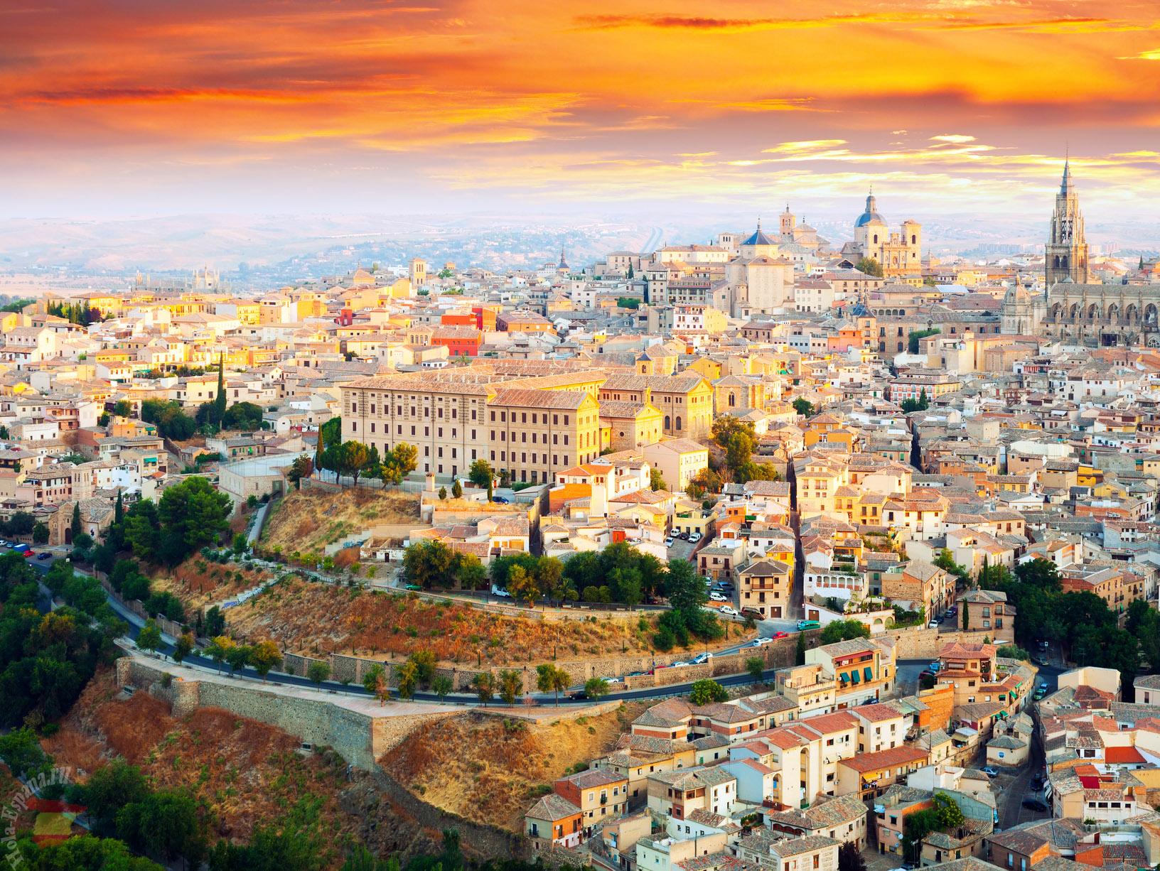 Толедо - древнейший город Испании