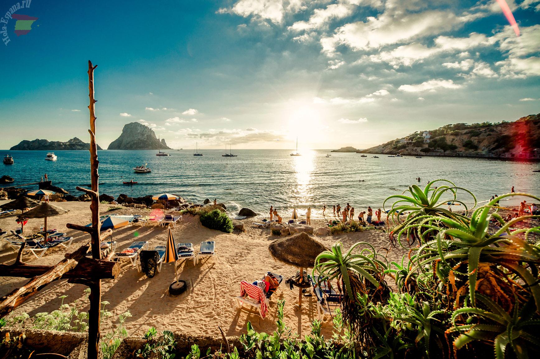 Ибица - популярный молодежный курорт
