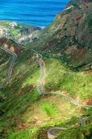 Горная дорога в Taganana
