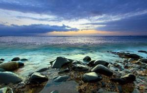 Каменистый пляж на Тенерифе