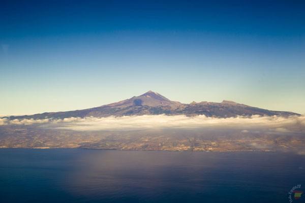 Вид на вулкан Тейде на Тенерифе