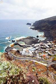 Один из поселков на побережье