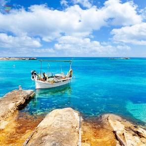 Пляж Pujols на Форментере