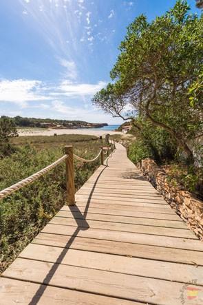 Путь до пляжа Саона