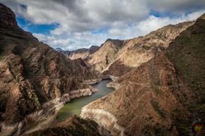 Горный хребет на острове Гран-Канария