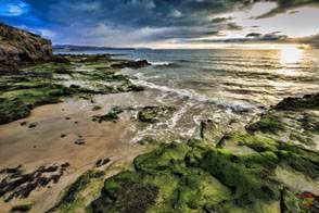 Пляж на острове Фуэртевентура