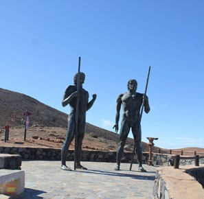 Памятник около Betancuria