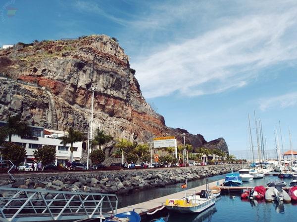 Сан Себастьян де Гомера, гавань
