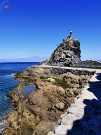 В порту San Sebastian de la Gomera