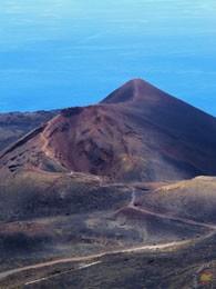 Вулкан Teneguia на Пальме