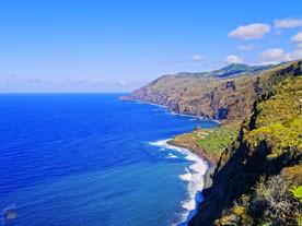 Скалистое побережье La Palma