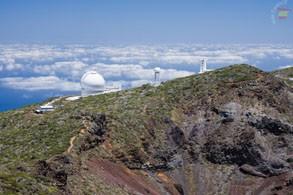 Телескопы на вершине Пальмы