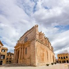 Ciutadella Menorca Cathedral в Ciudadela