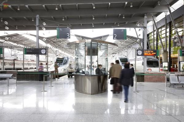 ЖД вокзал в Малаге