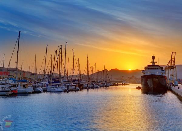 Порт города Картахены