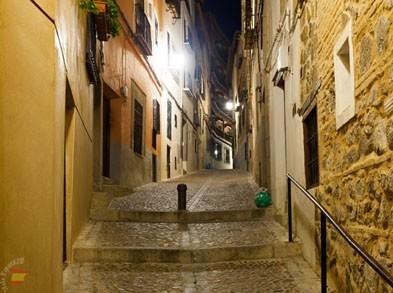 Средневековые улицы Толедо