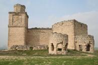 Замок Barcience в провинции Толедо