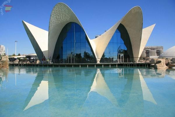Океанографический музей в Валенсии