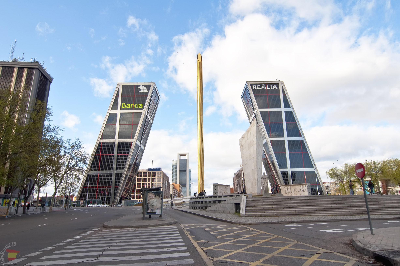 Башни-близнецы - Ворота Европы в Мадриде